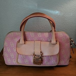 Vintage Dooney and Bourke pink purse